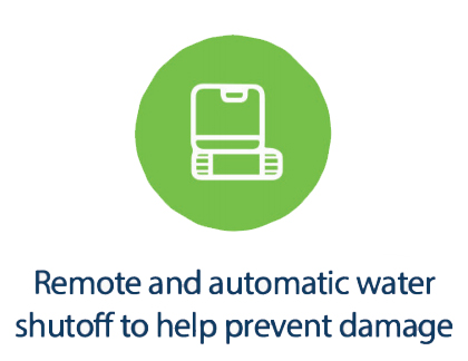 Remote and Automatic Water Shutoff to Help Prevent Damage